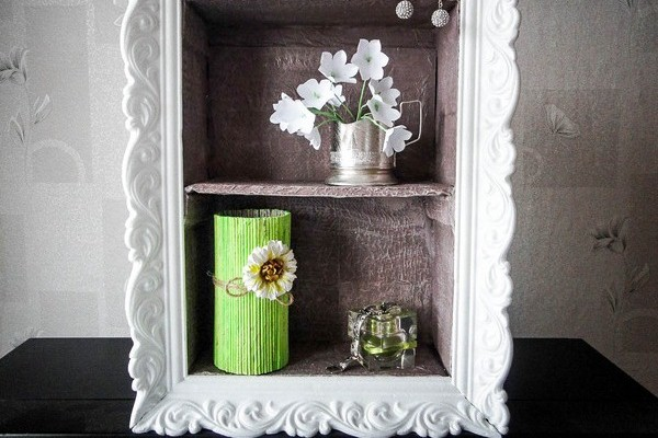Cheap Diy Home Decor Idea Decorative Cardboard Wall Shelf