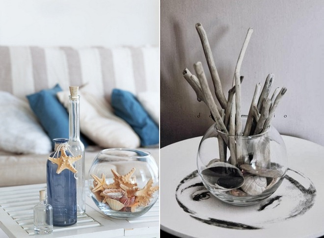 beach-home-decorating-ideas-fish-bowl-centerpiece-coffee-table