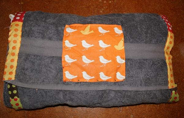 diy beach blanket sewing summer project pockets