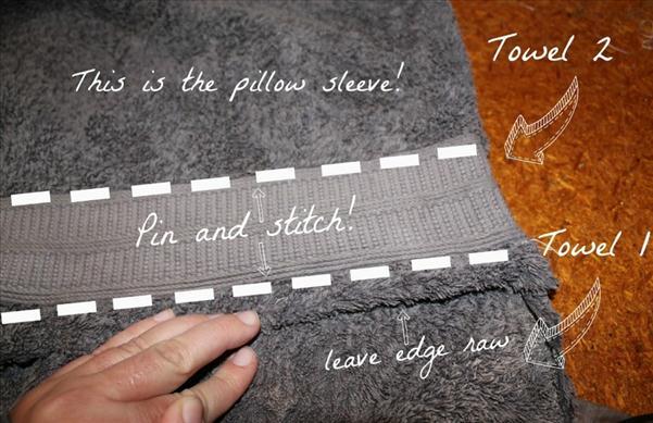 beach towel blanket tutorial diy sewing