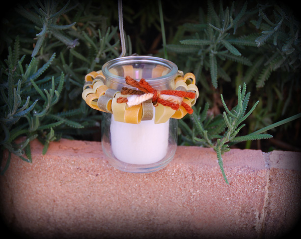 decorating-candle-votives-heart-shaped-pasta