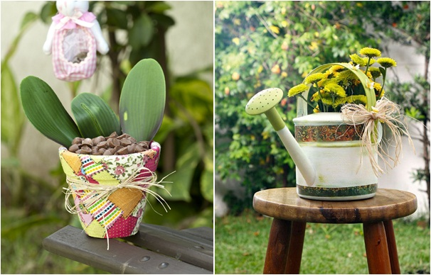 decoupage-fabric-paper-garden-decor-flower-pot-watering-can