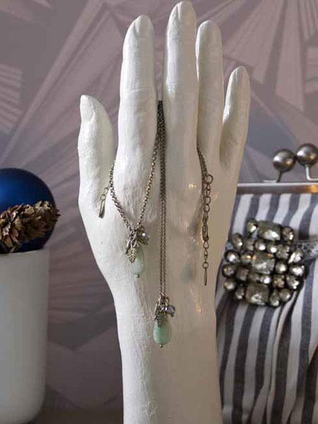 diy jewelry storage ideas hand plaster jewelry shop