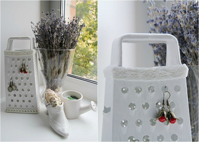 diy-jewelry-storage-ideas-white-painted-cheese-grater