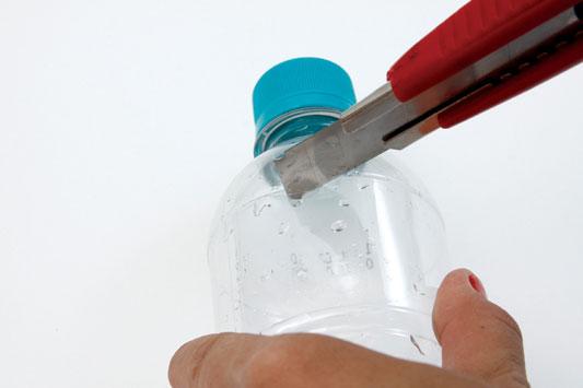 diy keychain plastic bottle reuse