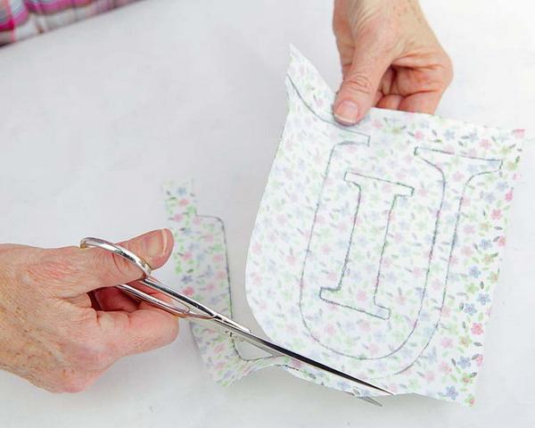 diy nursery project sticker letters