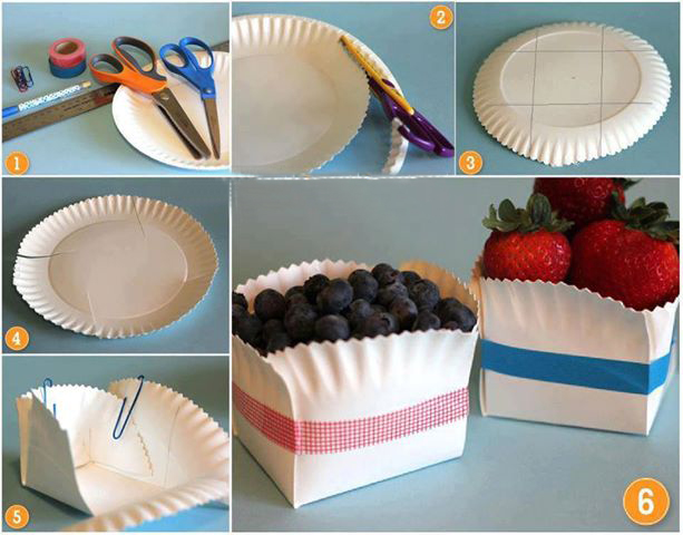 fun picnic ideas paper plates redesign fruits
