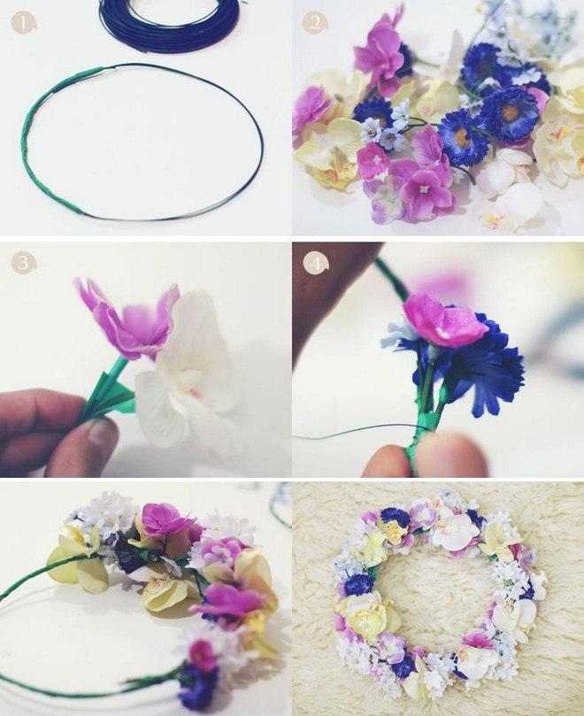 garden-decorating-ideas-diy-flower-wreath