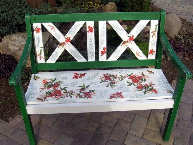 garden-decorating-ideas-diy-garden-bench-makeover