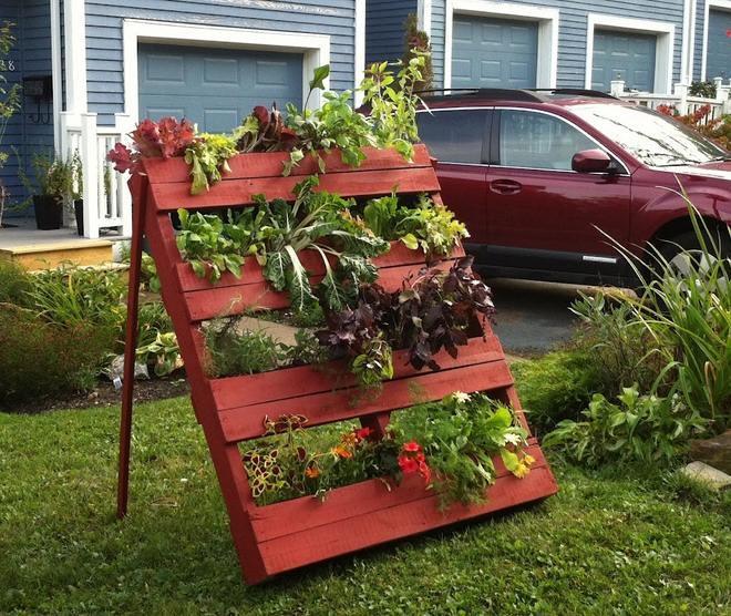 garden-decorating-ideas-diy-vertical-garden-pallet