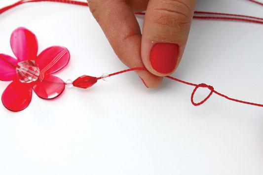 handmade keychain diy gift idea plastic bottle flower