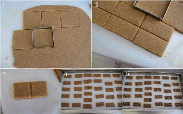 make domino cookies recipe cookie cutter square