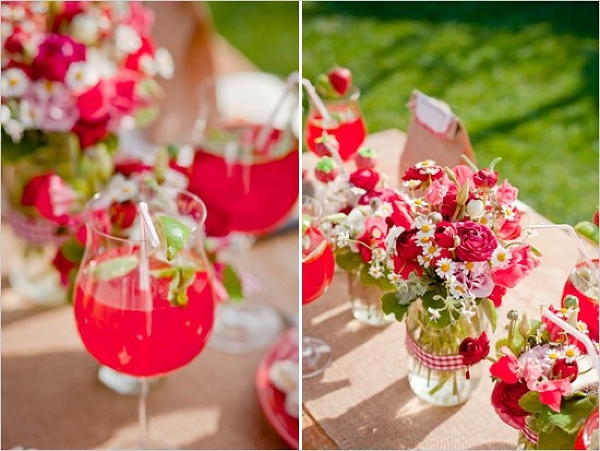 summer-garden-party-strawberry-juice-roses-mason-jars-vases