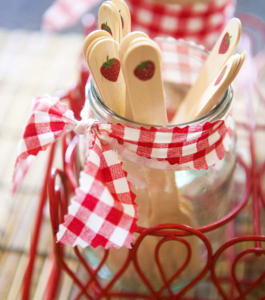 summer garden party theme red white stripes