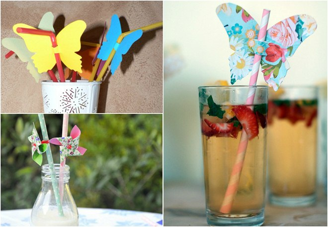 table-decoration-ideas-summer-drinking-straws-embellishements