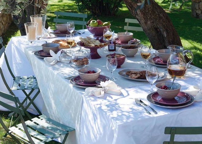 Table Decoration Ideas Summer Garden Party Table Setting