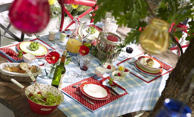 21 table decoration ideas for a summer garden party on