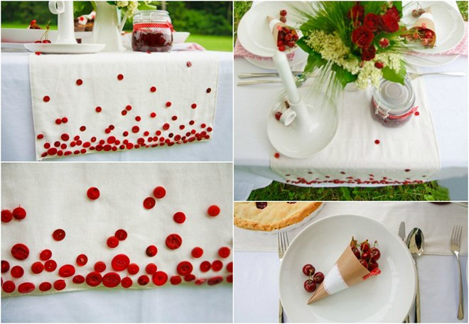 table-decoration-ideas-summer-tablecloth-buttons-cherries