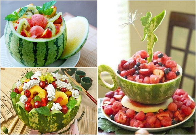 table-decoration-ideas-summer-watermelon-bowls-salad