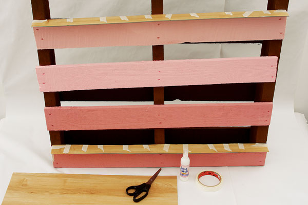 wood pallet projects shelf  pink laminat flooring