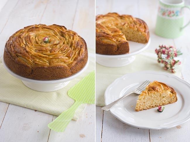 apple rose pie recipe baking preparation