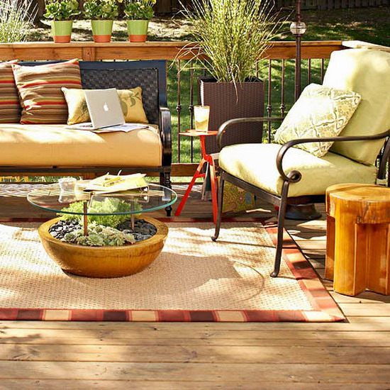 Diy Patio Decorating Ideas: Outdoor Room Decorating Ideas Diy Table Planter Glass Top