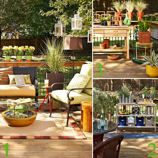 Outdoor living design ideas room gardening grill kitchen area