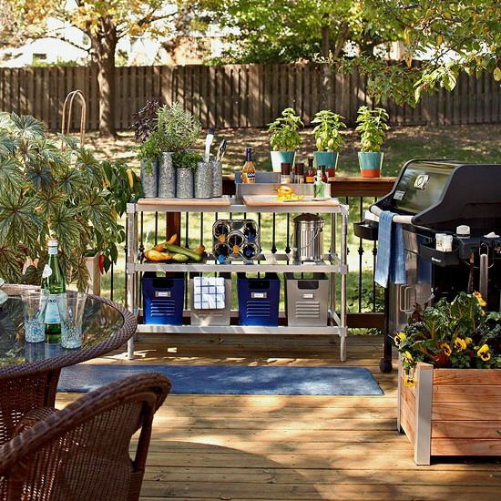 Outdoor Living Room Decorating Ideas Plan Outdoor Kitchen Area