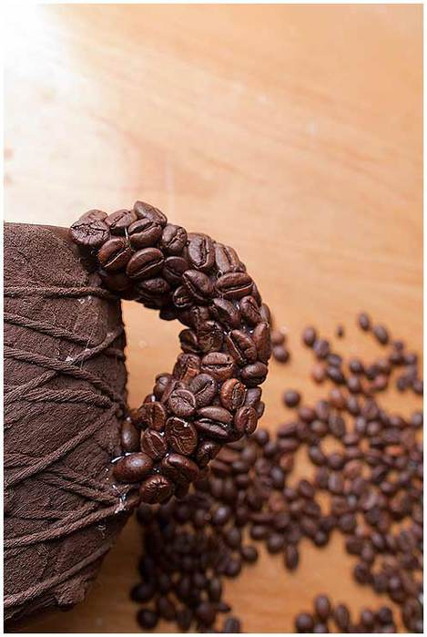 diy birthday gift idea coffee beans decor mug