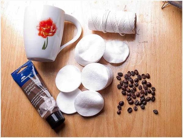 diy birthday gift idea coffee mug coffee beans facial pads