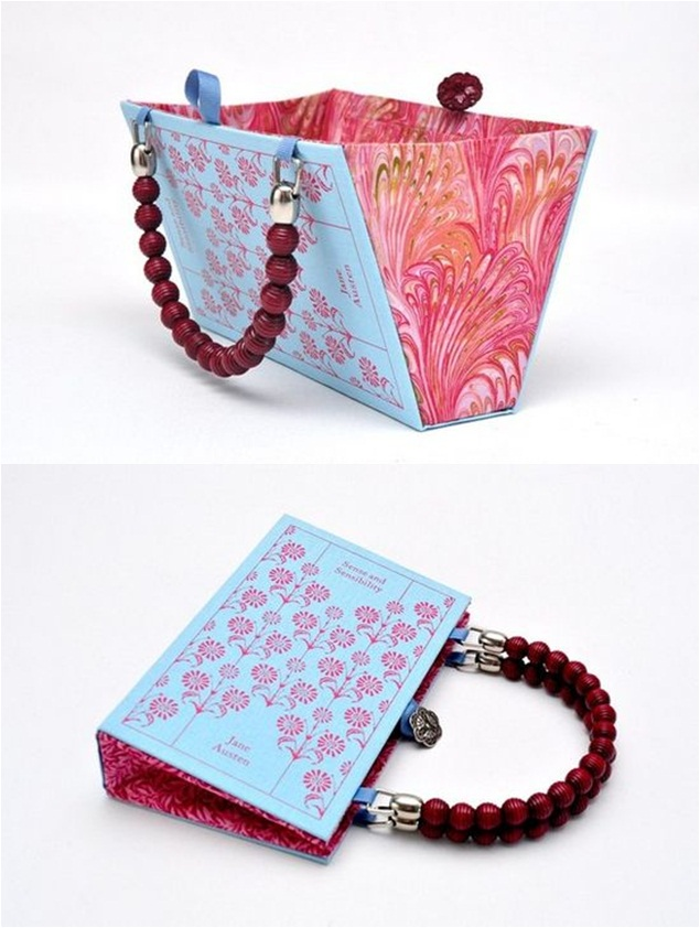 Fashion Book Cover Ideas : Diy book cover clutch and bag the perfect gift idea for