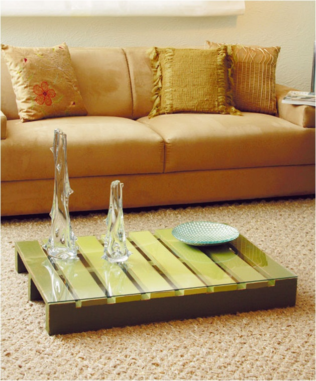 diy coffee table pallet furniture ideas glass top