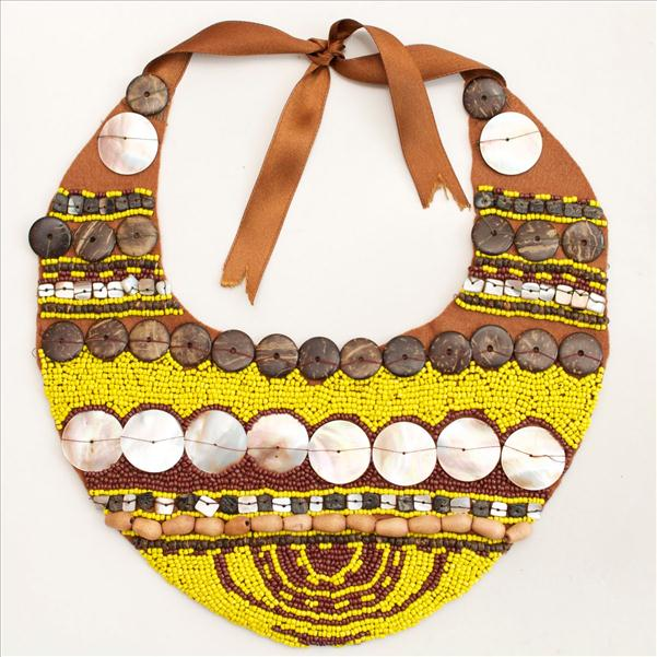 diy collar necklace ethno styling fashion beads