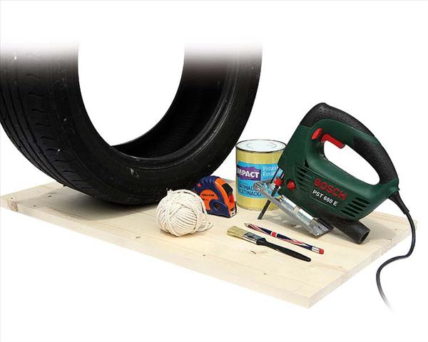 diy furniture projects garden stool tire materials