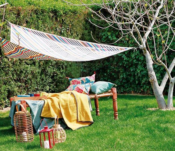 3 Easy Diy Garden Projects A Shade Cloth A Stool And A