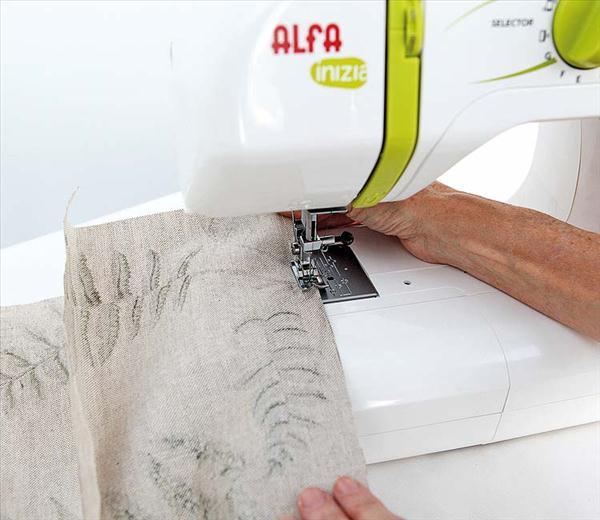 diy garden tools storage idea fabric sewing machine