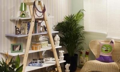 diy-ladder-shelf-living-room-home-decor-photos-books