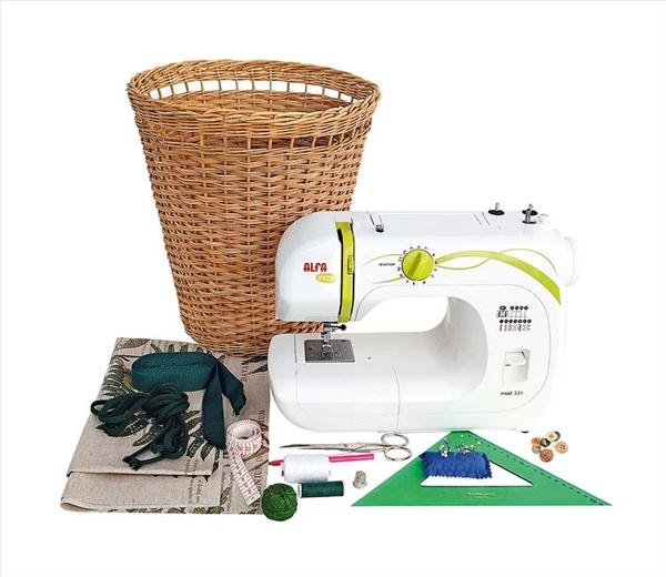 diy storage ideas garden tools wicker basket materials