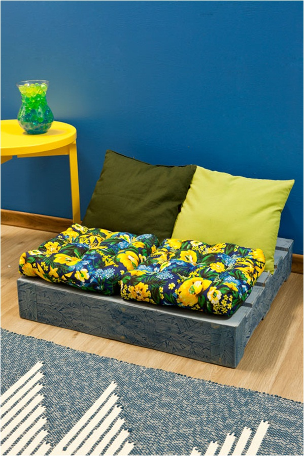 diy wood pallet sofa ideas decorate paint seat cushions