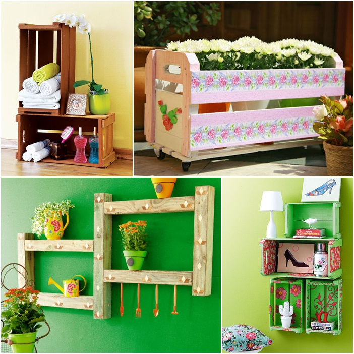 Diy Wooden Furniture Ideas Projects Wine Home Garden