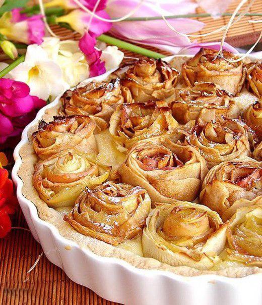easy apple desserts apple rose pie baking
