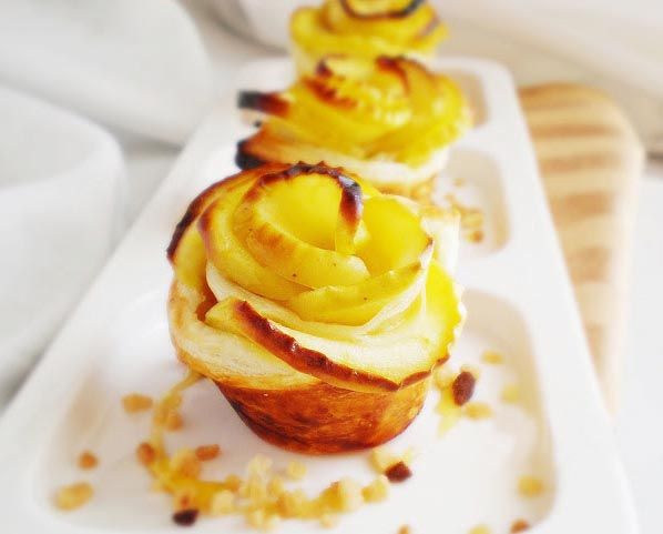 easy apple desserts apple roses mini tarts