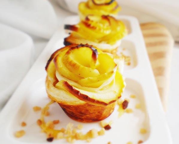 easy apple desserts apple roses mini tarts