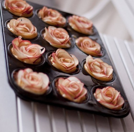 easy apple desserts how to make apple roses for a pie