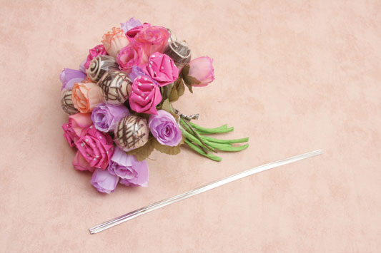 make candy bouquet diy flower arrangement paper flowers