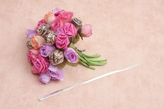 make candy bouquet diy flower arrangement paper flowers