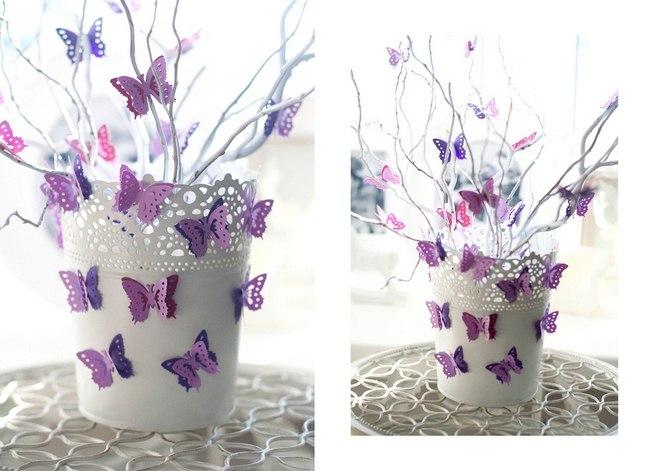 Бабочки украшение своими руками