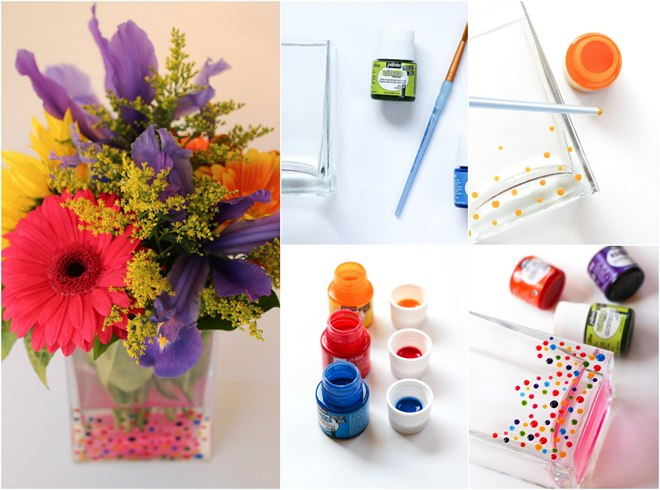 summer-decorating-ideas-painting-glass-vase