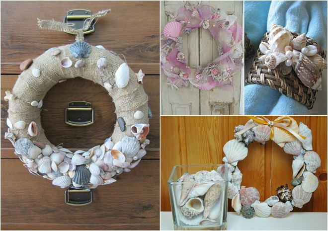 summer-decorating-ideas-wreaths-napkin-rings-seashells
