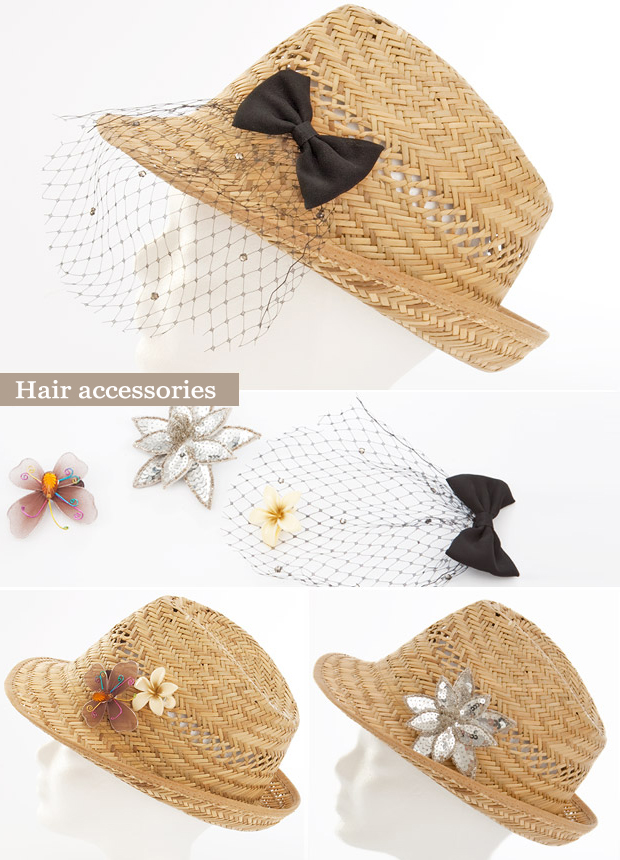 summer straw jazz up fashionable ideas straw hat hair accessories